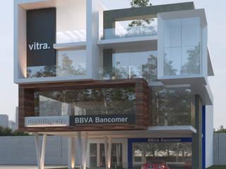 Moderne Ladenflächen von EBA Architecture & Desing Modern