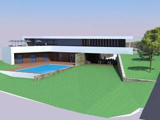 Estudo de Moradia: Casas  por JCP arquitecto
