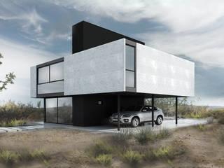 Proa Arquitectura 미니멀리스트 침실 금속 화이트
