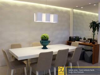 Modern dining room by Estúdio DG Arquitetura Modern