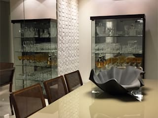 餐廳 by Estúdio DG Arquitetura, 現代風