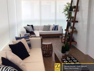 Projeto Residencial Varandas, alpendres e terraços rústicos por Estúdio DG Arquitetura Rústico