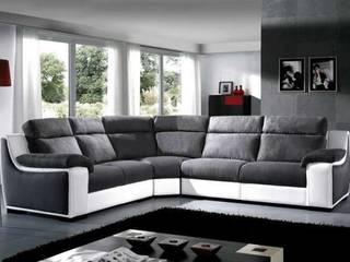 sofá de canto por Estofosvc Moderno