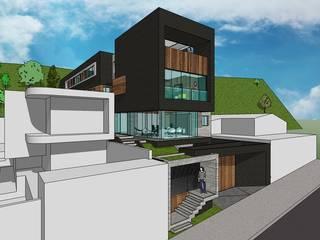 Edificio Multifamiliar Casas de estilo minimalista de MARATEA estudio Minimalista