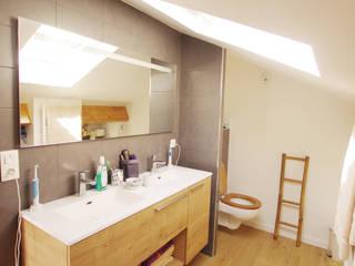 Salle de bain parentale: Salle de bains de style  par Caroline Charvier Architecture