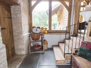 Hall Area Lincolnshire Limestone Flooring Interior landscaping