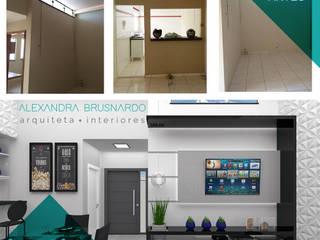 Residência E | Lençóis Paulista | Projeto de Interiores por Arquiteta Alexandra Brusnardo
