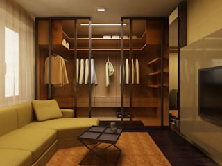 Dressing room by ART Studio Design & Construction