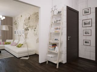 Corridor & hallway by ART Studio Design & Construction