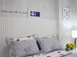 Apartamento Expresso 2222: Quartos  por Studio MAR Arquitetura e Urbanismo,Moderno