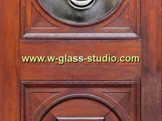 Witraże do drzwi W.Glass Studio