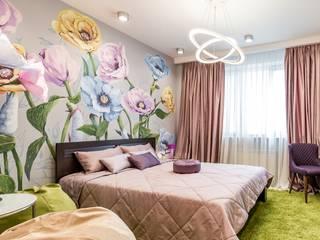 Цветы для кадетки: Спальни в . Автор – Школа Ремонта, Классический