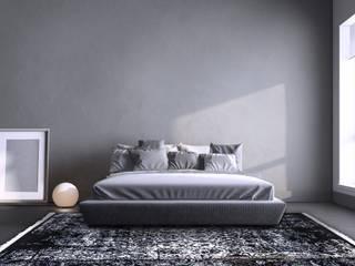 Orientteppiche in moderner skandinavischer, minimalistischer Einrichtung von Nain Trading GmbH Skandinavisch