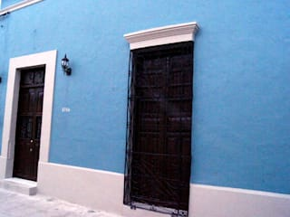 Quinto Distrito Arquitectura Eclectic style houses Blue