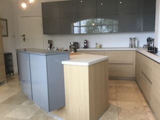 Stockport kitchen:  Kitchen by Diane Berry Kitchens