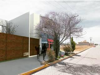 Proyecto: K3108. Status: on going : Casas de estilo moderno por Pizarra Arquitectura