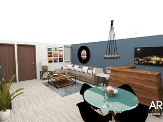 Wohnzimmer von ARDIN INTERIORISMO, Modern