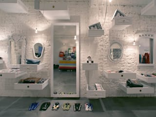 Actually Boutique Modern offices & stores by MinistryofDesign Modern