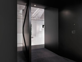 Barcode Office Modern offices & stores by MinistryofDesign Modern