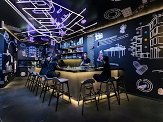 COO Boutique Hostel and Sociatel Modern hotels by MinistryofDesign Modern
