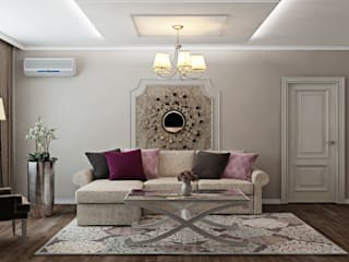 ДизайнМастер Classic style living room Beige