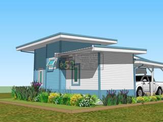 แบบบ้านชั้นเดียว 2 ห้องนอน (PPL-5001):   by PPlan152