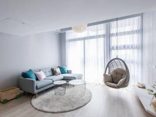 涵松樓-北歐風 根據 宅即變空間微整形 北歐風