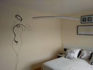 Pintura decorativa para dormitorio de Trestepintan Minimalista