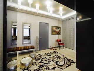 Ре- декорирование холла Коридор, прихожая и лестница в модерн стиле от Мария Бекетова Света Лапина Модерн