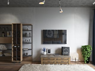Living room by Дарья Баранович Дизайн Интерьера