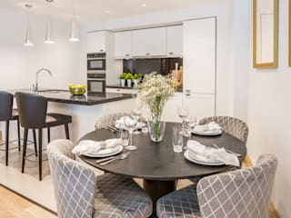 Abell House, Westminster, London Dapur Modern Oleh Hampstead Design Hub Modern