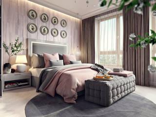 Phòng ngủ by Дарья Баранович Дизайн Интерьера
