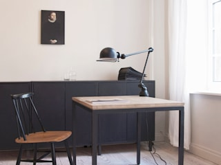White Room Minimalist study/office by STUDIO LOUIS Minimalist