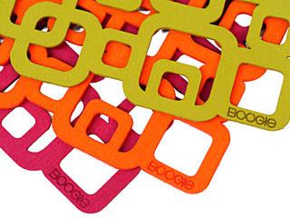 Cube podkładki pod talerz x 4szt : styl , w kategorii  zaprojektowany przez boogie
