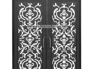 Puerta moderna contemporanea: Ventanas de estilo  por Del Hierro Design