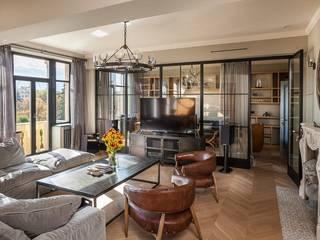 Living Room Industrial style living room by Hampstead Design Hub Industrial