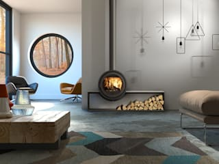 Biojaq - Comércio e Distribuição de Recuperadores de Calor Lda Living roomFireplaces & accessories