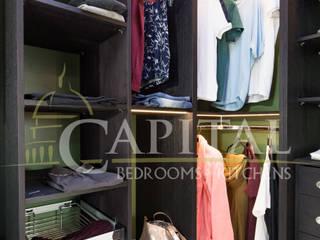 Contemporary walk-in-wardrobe: modern  by Capital Bedrooms, Modern
