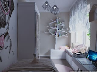 Quarto infantil  por ХаТа - design , Minimalista