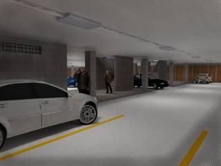 Garage/Rimessa in stile moderno di Project arquitectura s.a.s Moderno