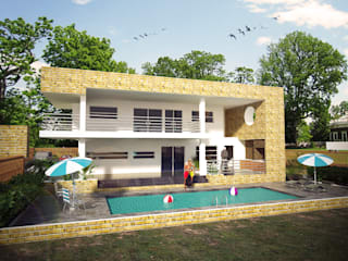Case in stile minimalista di Project arquitectura s.a.s Minimalista