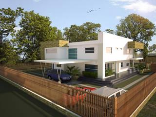 Casas de estilo  por Project arquitectura s.a.s , Minimalista