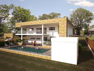 Minimalist house by Project arquitectura s.a.s Minimalist