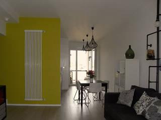 Appartamento privato - Roma StudioExNovo Sala da pranzo moderna