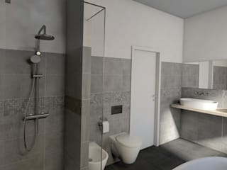 Ristrutturazione villa StudioExNovo Bagno in stile rustico