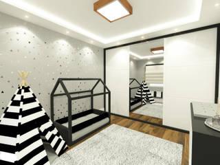 Quarto Infatil [BJMN]:   por Sabrina Vieira Arquitetura e Interiores