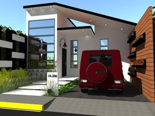 Casas modernas de N.A. ARQUITECTURA Moderno
