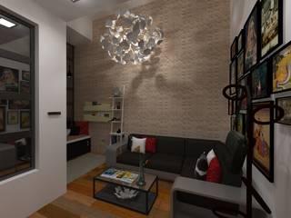 Modern living room by N.A. ARQUITECTURA Modern