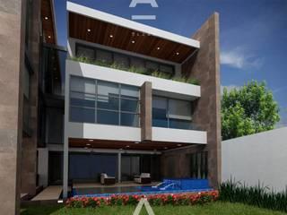 Veredalta: Casas de estilo  por Álzar