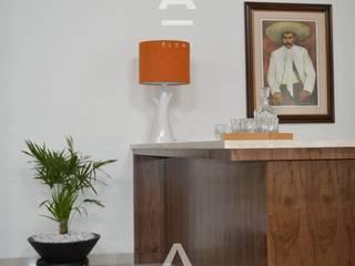 Casa de Campo: Salas de estilo  por Álzar
